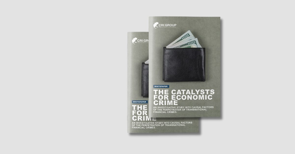 An Investigative Study Into Causal Factors of the Perpetration of Transnational Financial Crimes Mock Up