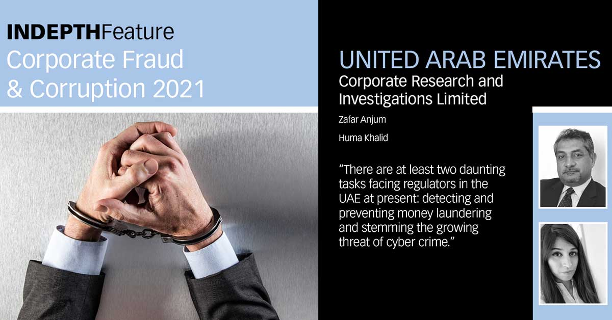 Q&A on how corporate fraud and corruption affect businesses in the UAE 2021