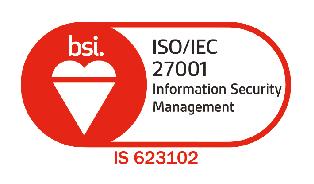 BSI ISO/IEC 27001 logo