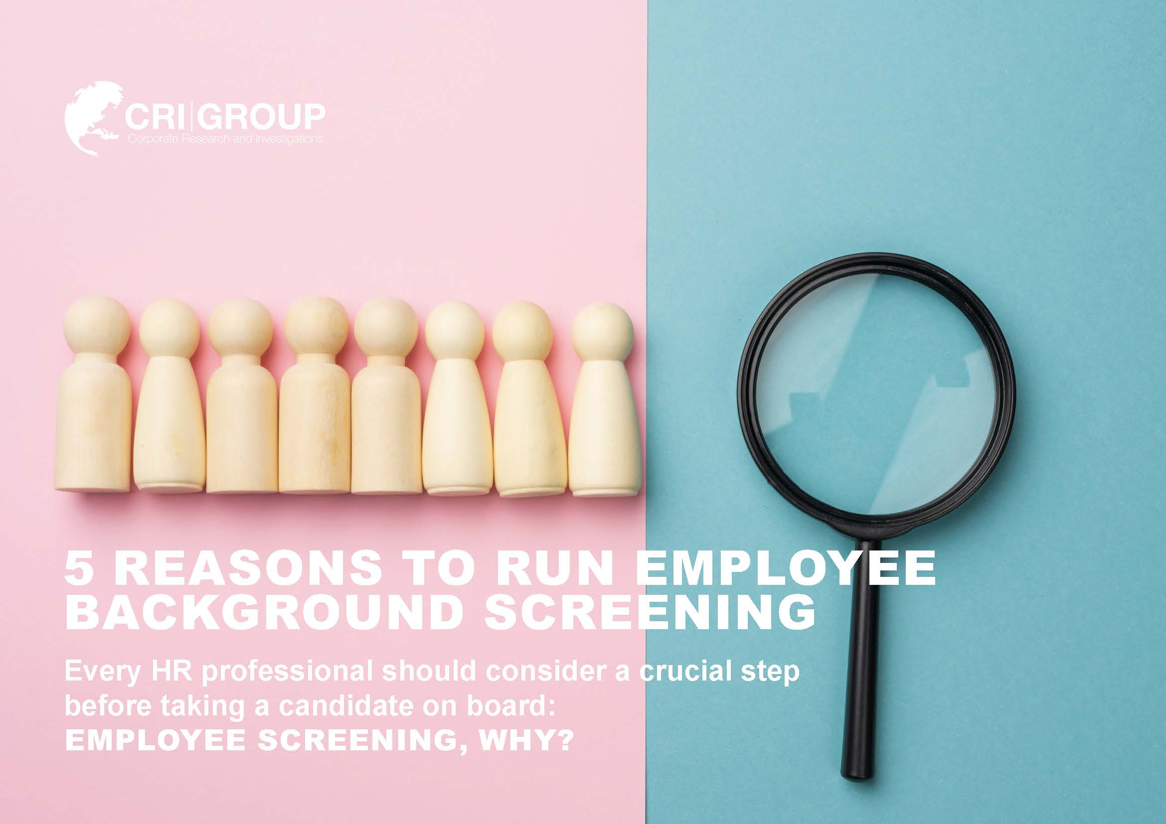 5 Reasons To Run Employee Screening